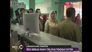 Merebak Wabah Difteri, Bupati Banten Sidak Kondisi Pelayanan Rumah Sakit - INews Sore 12/12
