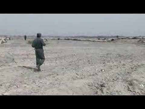Afghan Uniformed Police Patrol