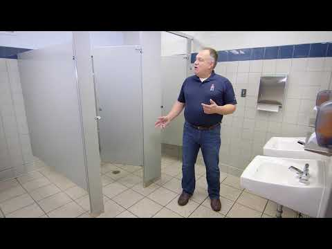Paint for Facility Bathrooms and Locker Rooms - Sherwin-Williams Pro Industrial™