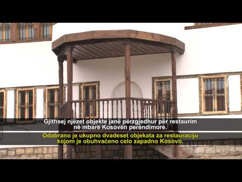 Kosovo traditional homes open new doors