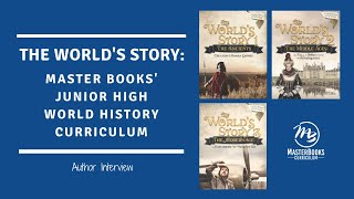 Explore The World's Story Series with Author Angela O'Dell // Master Books' World History Curriculum