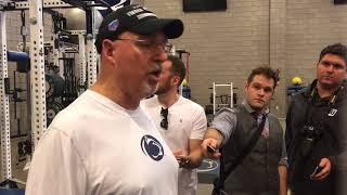 Penn State strength coach Dwight Galt on Micah Parsons' development in the winter workout program