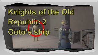 Knights of the Old Republic 2 Goto's ship Starwars