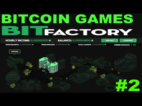 #2 BIT FACTORY. Bitcoin Game. Satoshi Games From Investments. Биткоин игра при инвестициях.