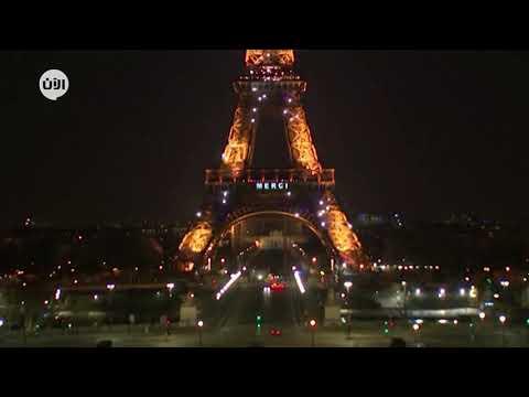 رسالة شكر للطواقم الطبية على برج إيفل في باريس  - نشر قبل 16 ساعة