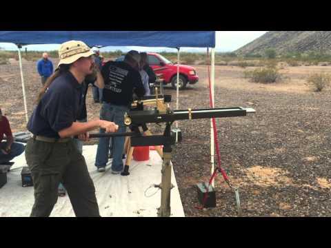 Bonus clip: Shooting a Prototype Repro Nordenfelt