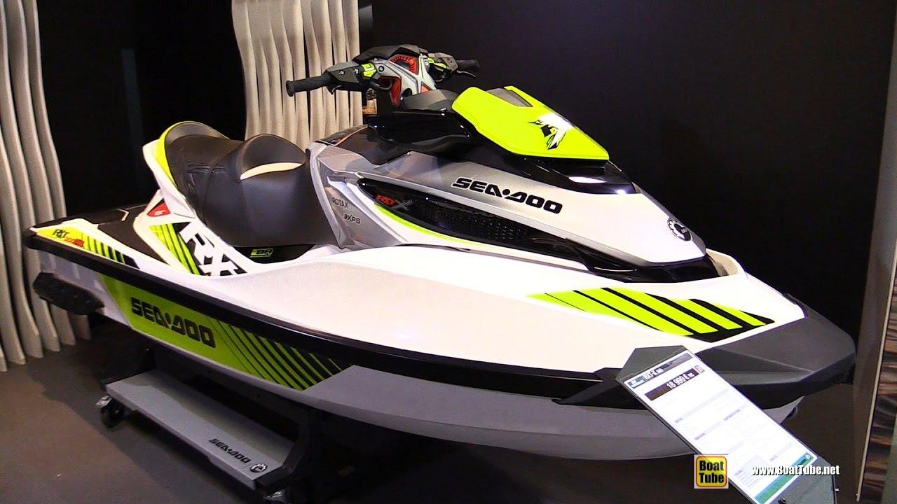 2017 Sea Doo Rxt X 300 Jet Ski Walkaround 2016 Salon Nautique Paris