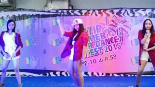 X-Gen'n cover Exid - Ah Yeah @ Pantip cover dance 2015 (audition) 150502