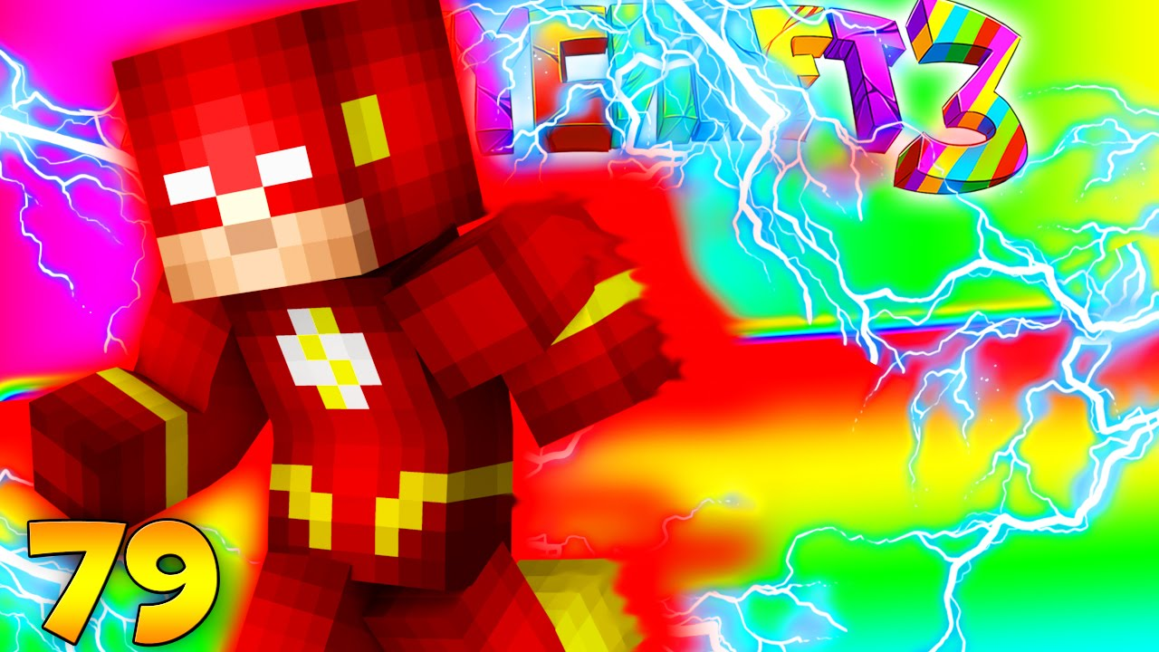 Minecraft Crazy Craft 3 0 The Flash Superhero Armor Run As Fast A Bullet 79 Jeromeasf