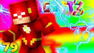 Minecraft CRAZY CRAFT 3.0 - THE FLASH SUPERHERO ARMOR (RUN AS FAST AS A BULLET)  #79