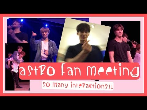 ASTRO FAN MEETING 2018 EXPERIENCE NYC #ASTROinUSA