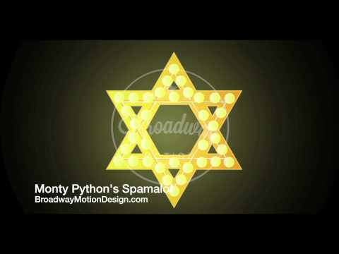 Spamalot Projections: Star Of David