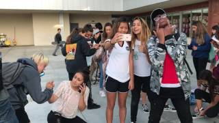 Freeze Challenge/Mannequin Challenge at Costa Mesa High/Middle School pt2