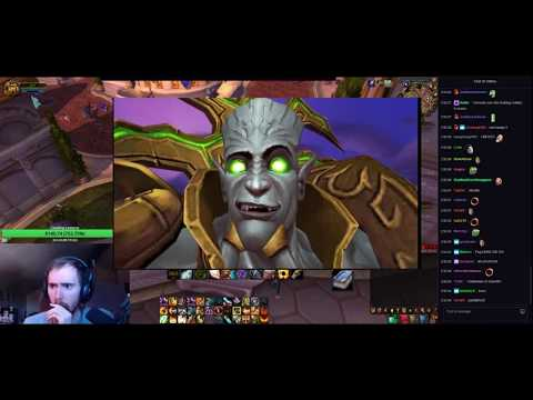 """Asmongold Reacts to """"The True Story of Archimonde! - (Warcraft Lore)"""" by Nixxiom"""