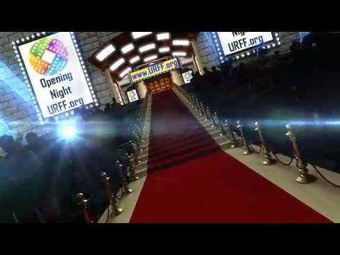 LGBT - Urban Rainbow Film Festival - Logo Opening Night Movie Premiere Red Carpet Event Arrival