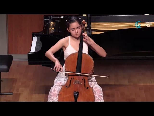 Mira Kardan, cello - Sound Espressivo Laureates' Recital