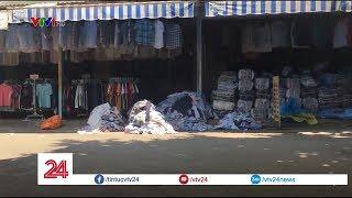 """Thâm nhập khu chợ chuyên bán hàng """"sida""""  - Tin Tức VTV24"""
