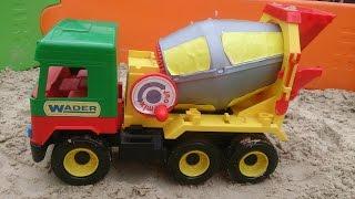 Бетономешалка WADER 39223- ОБЗОР. Mixer WADER 39223 Middle truck review