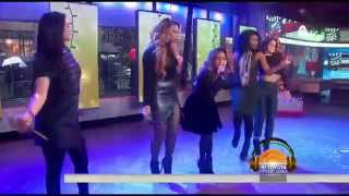 fifth harmony all i want for christmas is you live today show