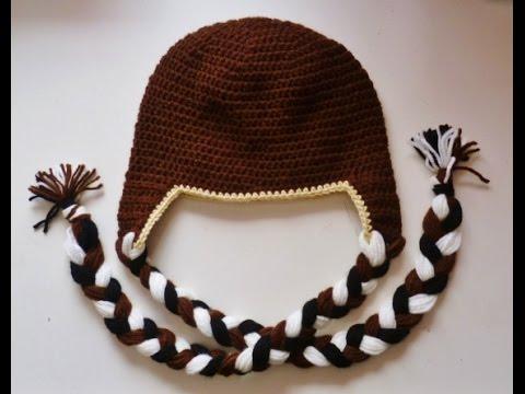 Mütze Mit Ohrenklappen Beanie Häkeln Crochet Tiermütze