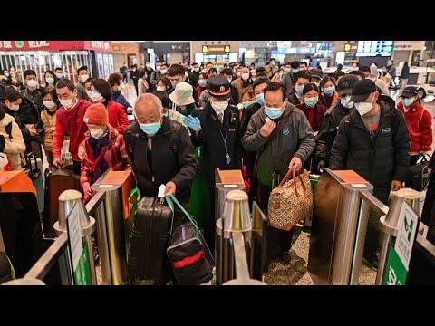 Primer Tren A Wuhan