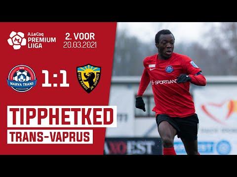 Trans Narva Parnu JK Vaprus Goals And Highlights