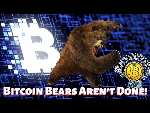 Bitcoin Bears Aren't Done