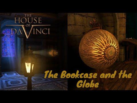 The House of da vinci-  Bookcase and the globe |