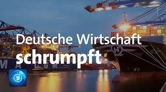 Deutsche Wirtschaft: Die Zeichen stehen auf Rezession
