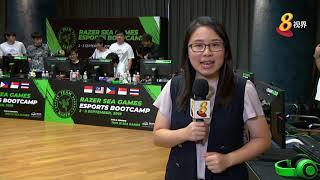 首个东南亚电竞集训 五国选手赛前过招