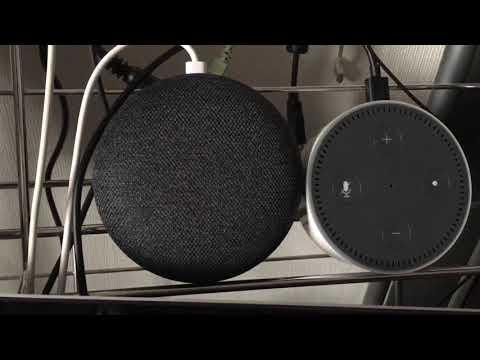 Google Home 経由でAmazon Echo に天気を聞く
