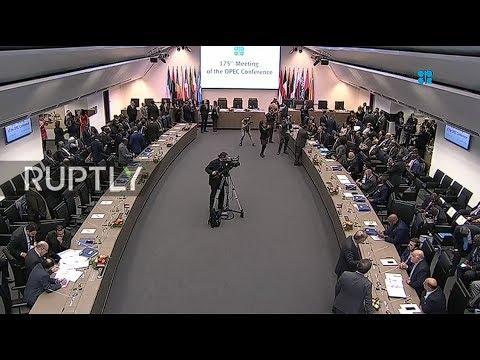 LIVE: 175th Meeting of OPEC Conference in Vienna