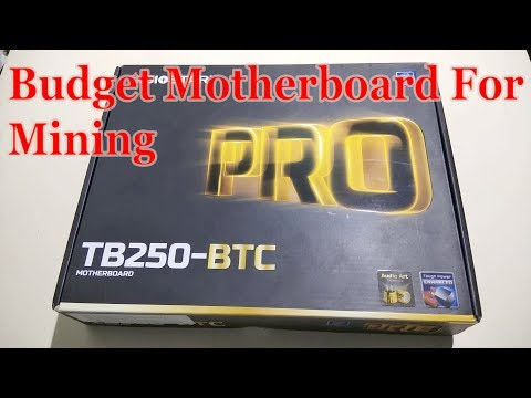 Biostar Tb250 Btc Motherboard Unboxing In Hindi   Budget Motherboard For Mining By Free Knowledge
