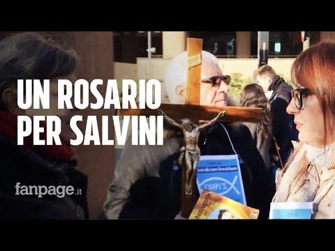Il rosario per Salvini alle porte del tribunale di Torino nel giorno del processo al leader leghista from YouTube · Duration:  4 minutes 4 seconds