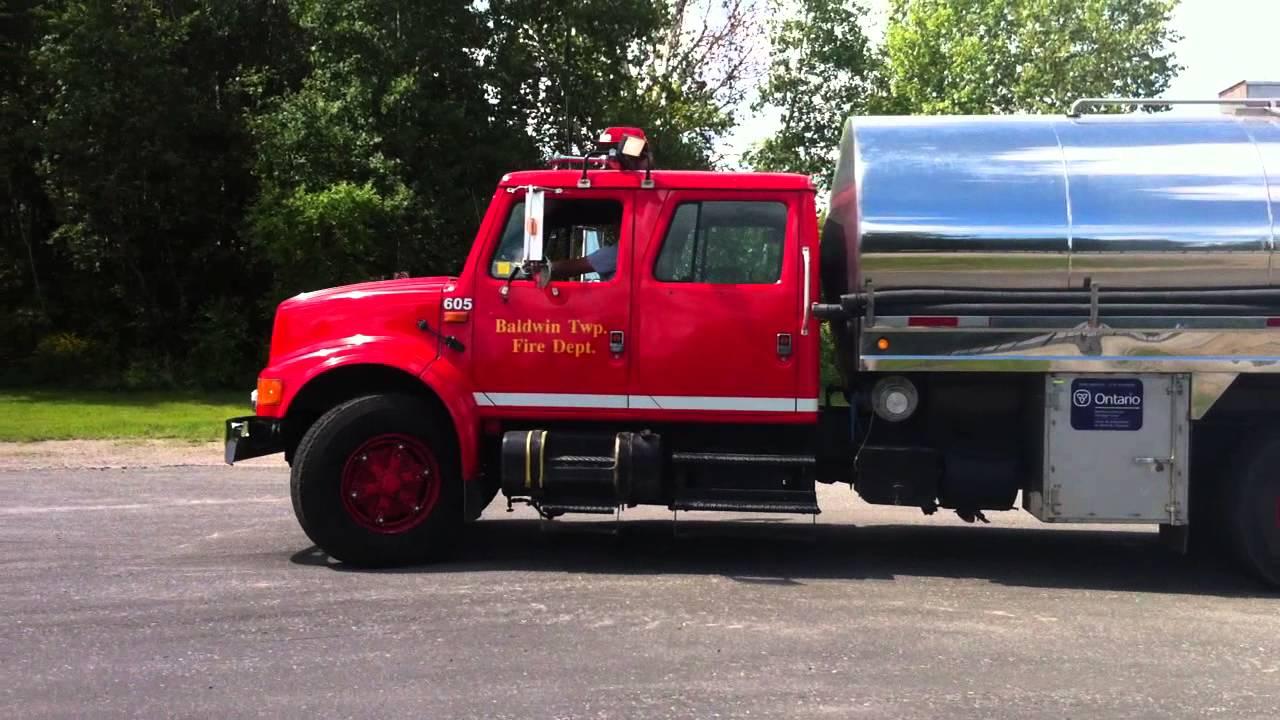 Trucks For Sale In Va >> FOR SALE Fire Truck Tanker Stainless Steel 3300 Gallons Baffled Tank - YouTube