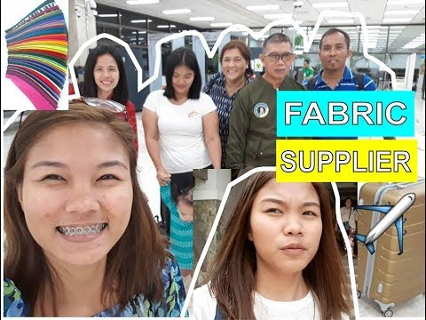 LOOKING FOR FABRIC SUPPLIER! MANILA DAY 1-2