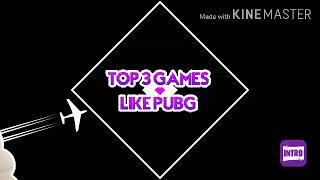 Top 3 Games Like Pubg Offline