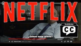 Como poner subtitulo en cualquier idioma en Netflix (Español)