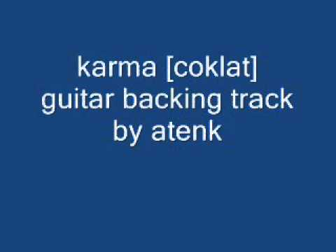 karma [coklat] guitar backing track