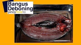 How to debone Bangus– Milkfish   Pinoy How To