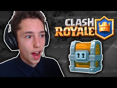 GIANT CHEST U SRED LIVE-A! | Clash Royale