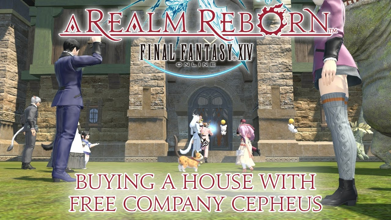 Final Fantasy XIV - Buying a House