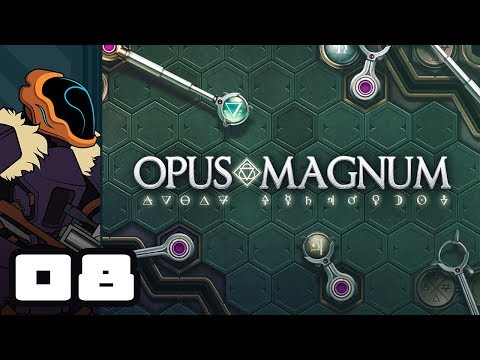 Let's Play Opus Magnum - PC Gameplay Part 8 - Slow & Steady At Discount Prices!