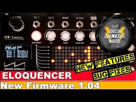 Eloquencer New 1.04 Features Update! Eurorack Modular Sequencer