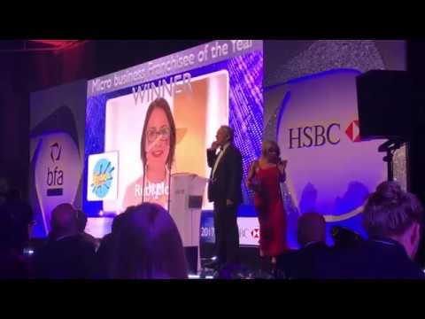 Ruth Morris wins the The bfa Award for Micro Business of the Year!