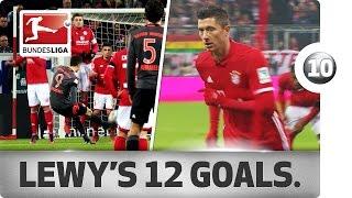 Lewandowski - All Goals So Far This Season