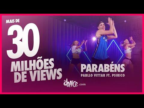 Parabéns - Pabllo Vittar ft Psirico  FitDance TV  FiqueEmCasa e Dance Comigo