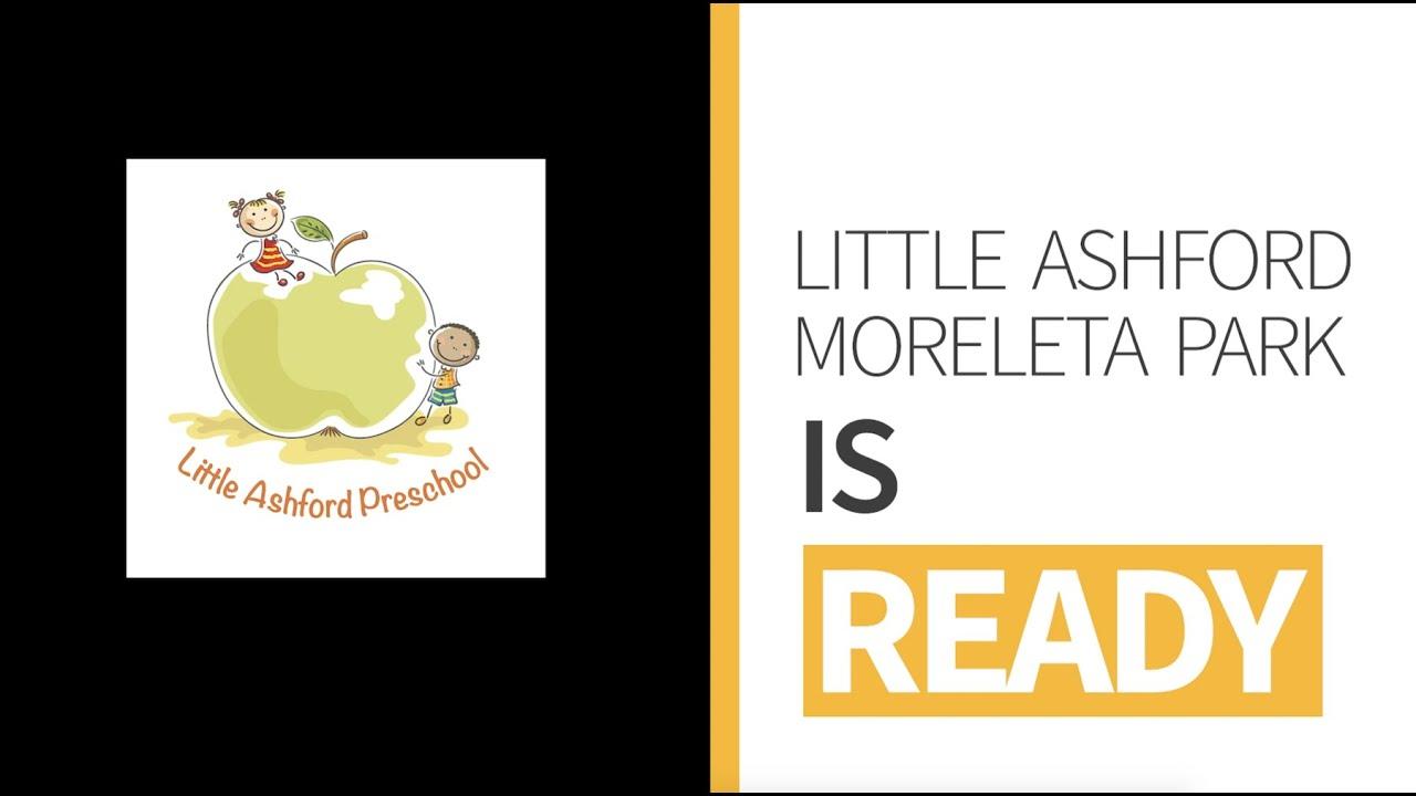 Little Ashford Moreleta Park is Ready! #unprecedented #unmatched