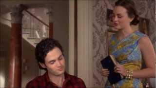 "Dan and Blair | All Scenes Gossip Girl 5x20 | ""Salon of the dead"" Part 1/3"