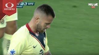 Penal de Jérémy Ménez | América 1 - 0 Atlas | Partido Amistoso | Televisa Deportes